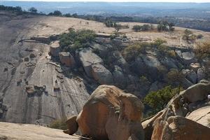 View of Little Rock from Enchanted Rock