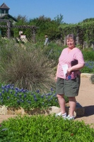 Jan at the Wildflower Center.