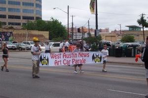 Austin Art Car Parade Banner