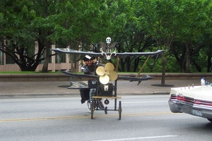 Biplane Bicycle