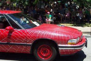 The Black Widow Art Car