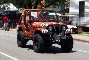 Jeeping Tiger