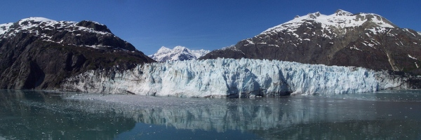Margerie glacier panoramic
