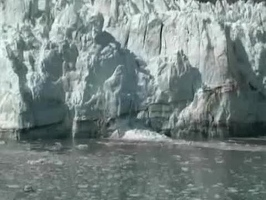 Video: Margerie glacier calving, reversed