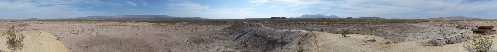 Tornillo Flats panoramic