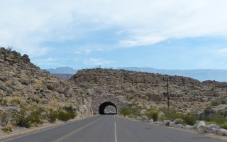 Tunnel on the way to Boquillas