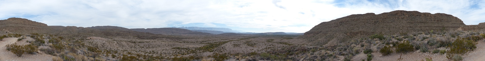 Rio Grande Overlook panoramic