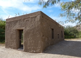 Daniels Ranch historic ruins