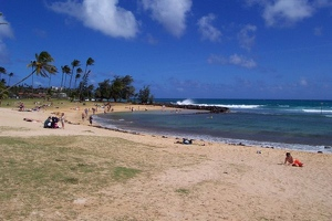 Beach at Poipu Park