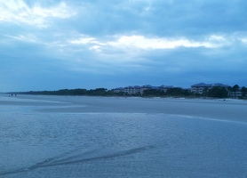 Hilton Head beach at low tide