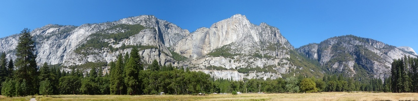 Panoramic Yosemite Valley