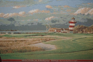 Tapestry of the lighthouse